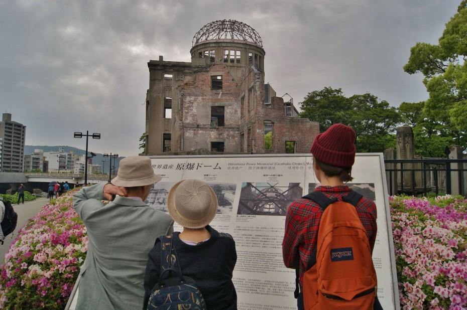 Genbakukoepel, Hiroshima, foto: Maarten Slagboom