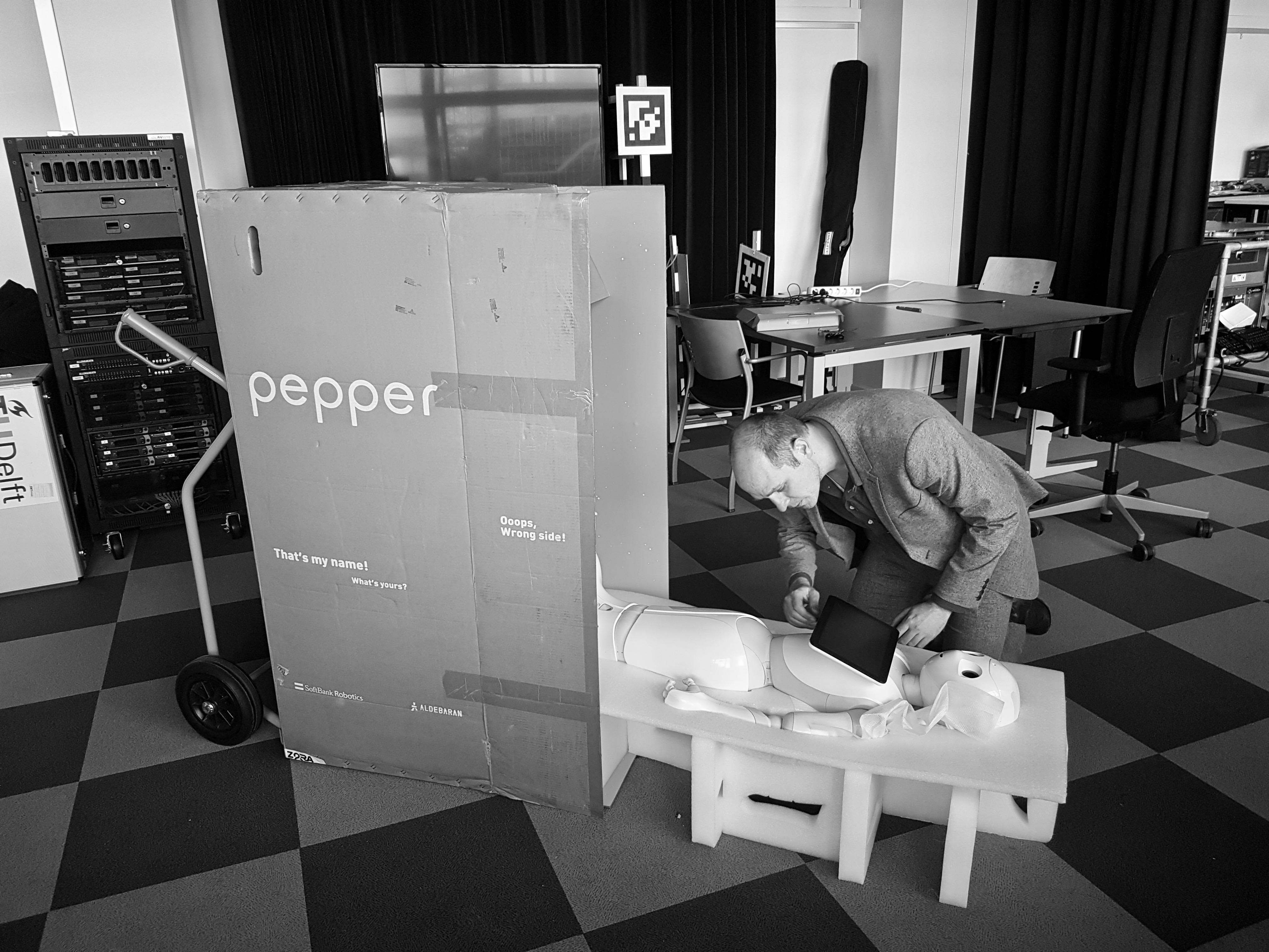Robo Sapiens, foto: Maarten Slagboom