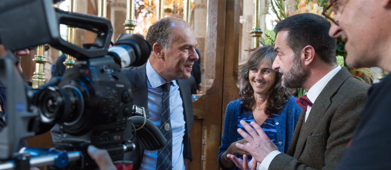 Opening univ jaar 2015 met VPRO High Res-6