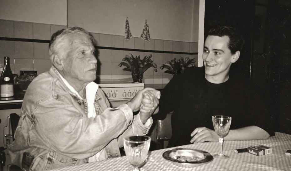 Gerard Reve en Maarten Slagboom